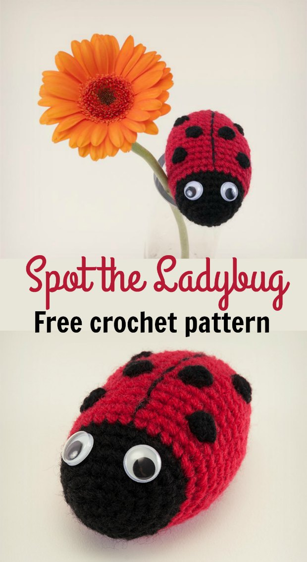 Crochet Ladybird Is A Super Cute Amigurumi Pattern Crochet News