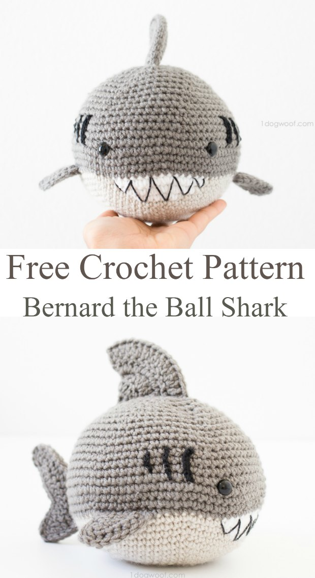 Amazing Amigurumi Shark Crochet Pattern Crochet News