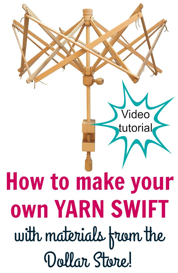 Make Yarn Swift At Home Crochet Tools