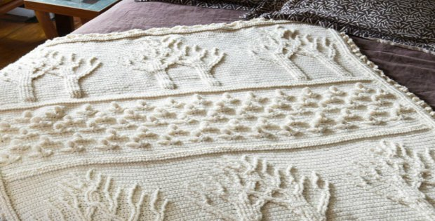 Tree of Life Afghan Crochet Pattern
