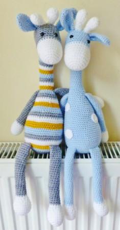 Amigurumi Crochet Giraffe Pattern