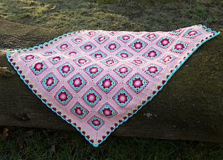 Baby Blanket Crochet Pattern Lydia