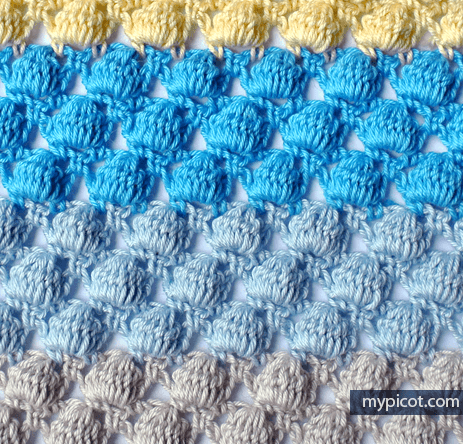 Bobble Stitch Crochet Blanket Pattern Crochet News