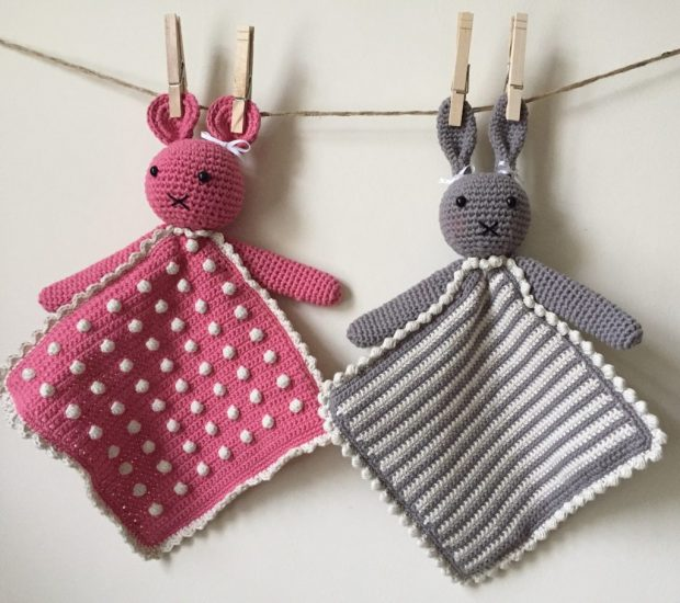 Crochet Baby Lovie Pattern with arms