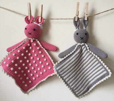 Crochet Baby Lovie Pattern e1519523742594