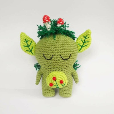 Crochet Toy Forest Spirit Free Amigurumi Pattern
