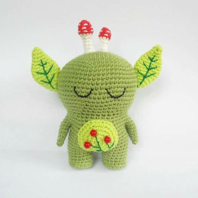 Crochet Toy Forest Spirit Free Amigurumi
