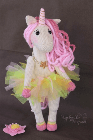 Princess Unicorn Amigurumi Pattern