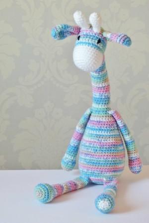Amigurumi Giraffe - Free Crochet Pattern | 450x300