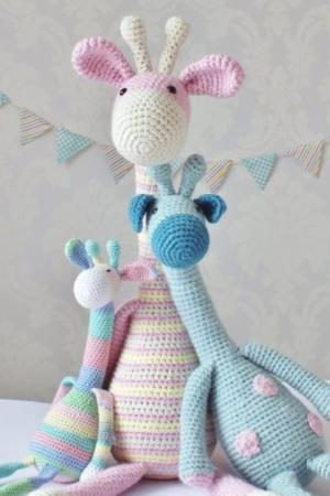 Crochet Giraffe Amigurumi Pattern Crochet News