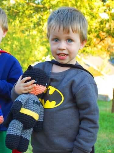 Crochet Batman Toy Pattern by Inner Child Crochet