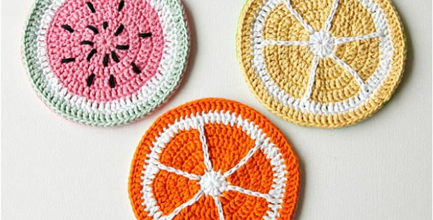 Crochet Potholder Tutti Fruitti Pattern Free Crochet News