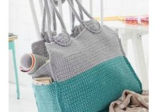 summer crochet bag
