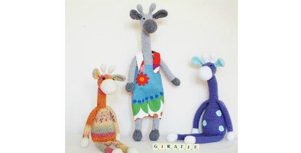 crochet giraffe super cute amigurumi