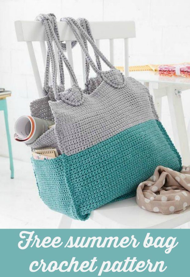 Summer Crochet Bag Free Pattern