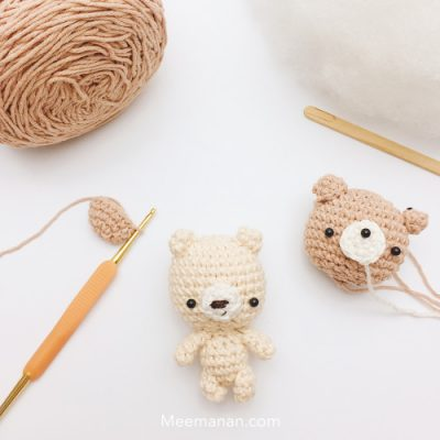 Crochet Dog Keychain Amigurumi Free Patterns | Crochet dog ... | 400x400