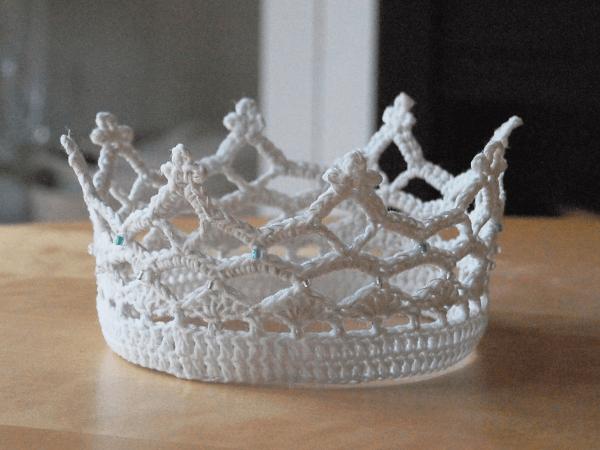 Crochet Princess Crown Pattern Free