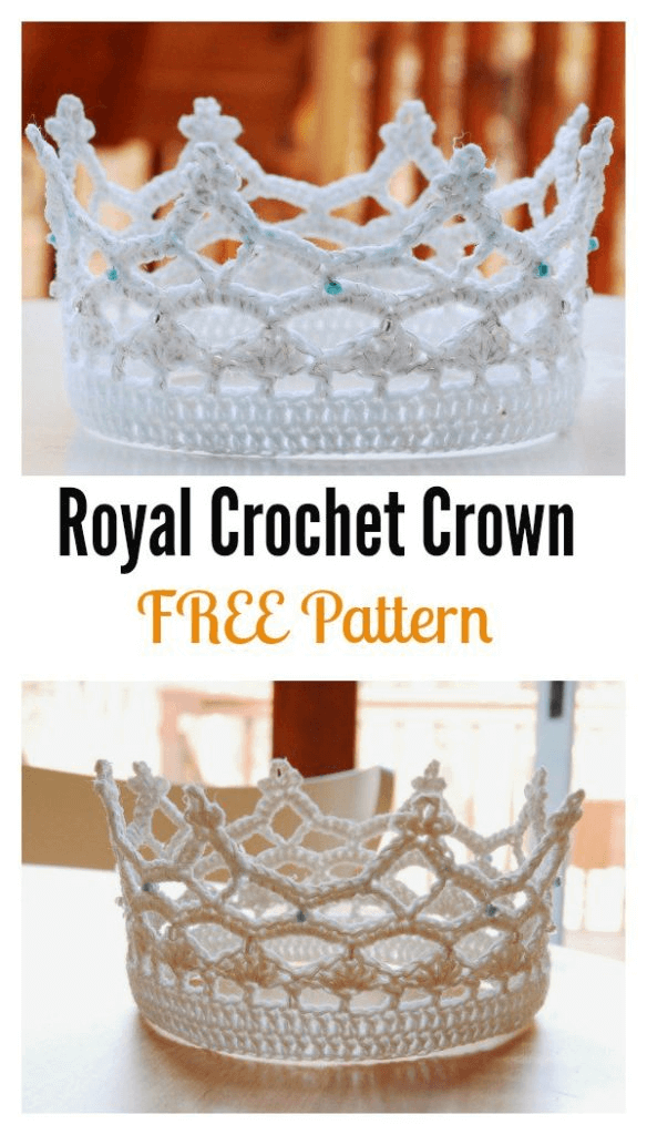 Princess Crochet Crown Free Pattern Crochet News