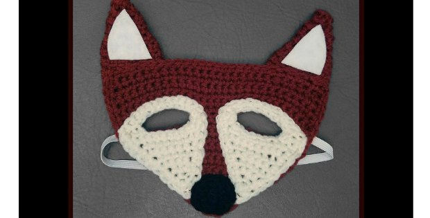 crochet mask fox pattern