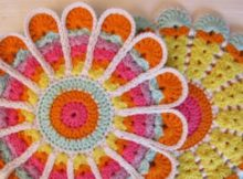 crochet flower-pot-holder