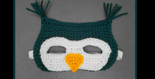 crochet owl mask crochet pattern