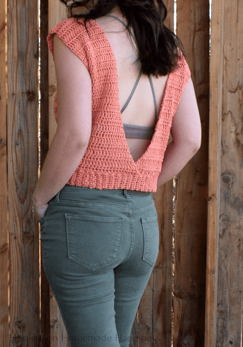Summer Valley Top Crochet Pattern by Hooked Homemade Happy
