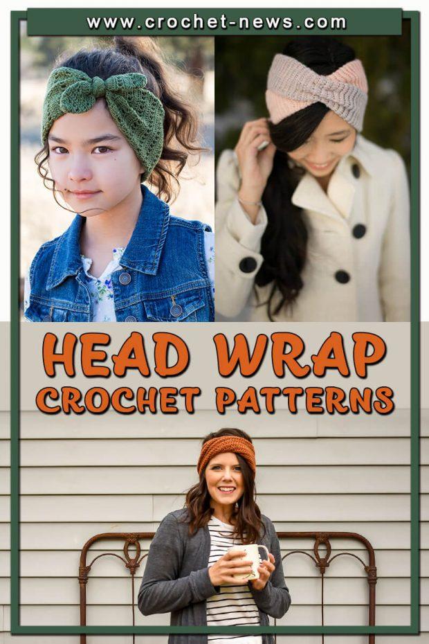 CROCHET HEAD WRAP PATTERNS