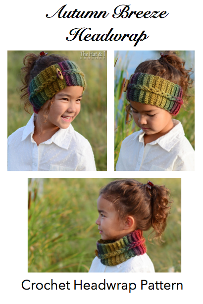 CROCHET PATTERN - Autumn Breeze Headwrap