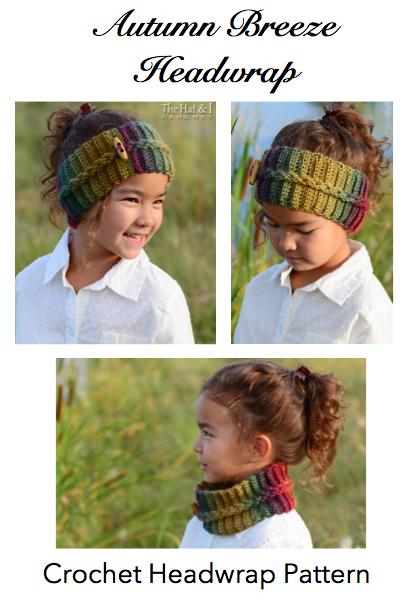 Crochet Head Wrap Autumn Breeze Pattern Crochet News