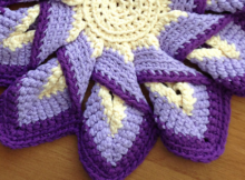 Crochet Hot Pads Classic 10 Point Pattern