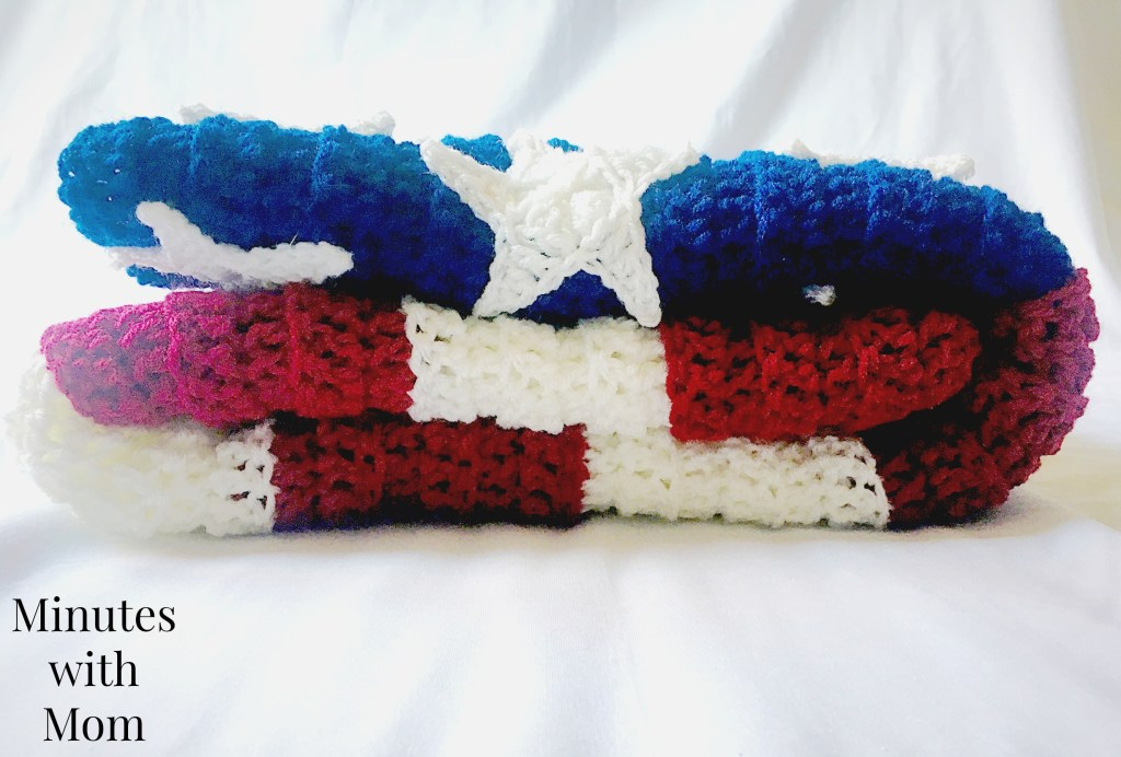 American Flag Crochet Blanket Free Pattern Crochet News
