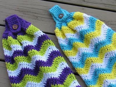 Crochet Kitchen Tea Towel Free Pattern