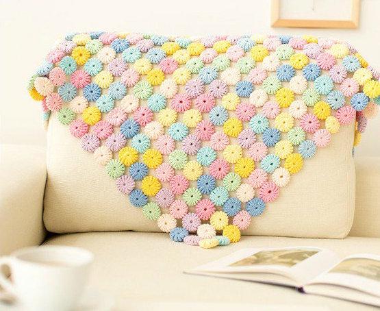 YoYo Puff Crochet Pattern Blanket Free Video Tutorial