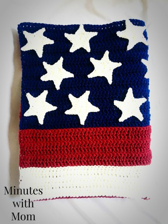 Free Crochet American Flag Pattern