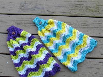 Free Kitchen Tea Towel Crochet Pattern