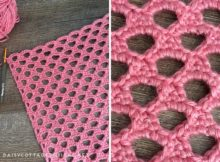 Honeycomb Crochet Stitch Tutorial