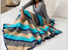 Corner to Corner Crochet Throw