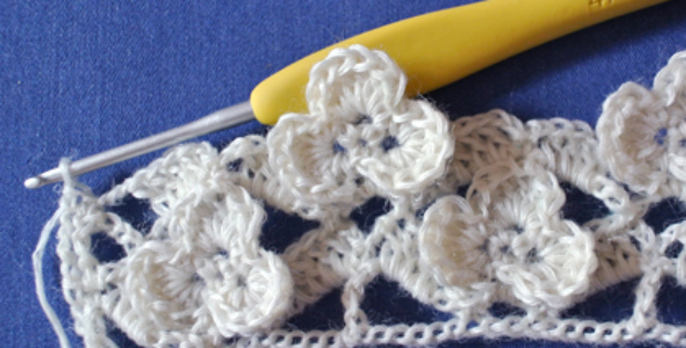Shamrock Pattern Stitch Of The week