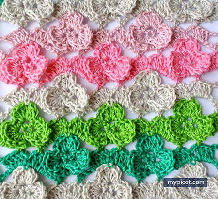 Shamrock Stitch Pattern