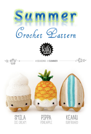 Summer Amigurumi Crochet Pattern