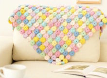 Yoyo Puff Crochet Pattern Tutorial