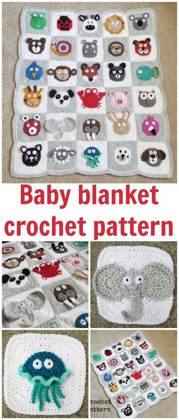 Crochet Zoo Baby Blanket Pattern Crochet News