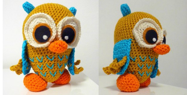 Cute Crochet Owl Amigurumi - Free Pattern (With images) | Owl ... | 315x620