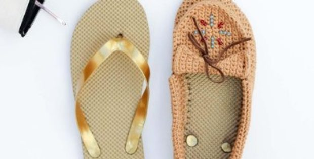 Crochet Shoes Moccasins