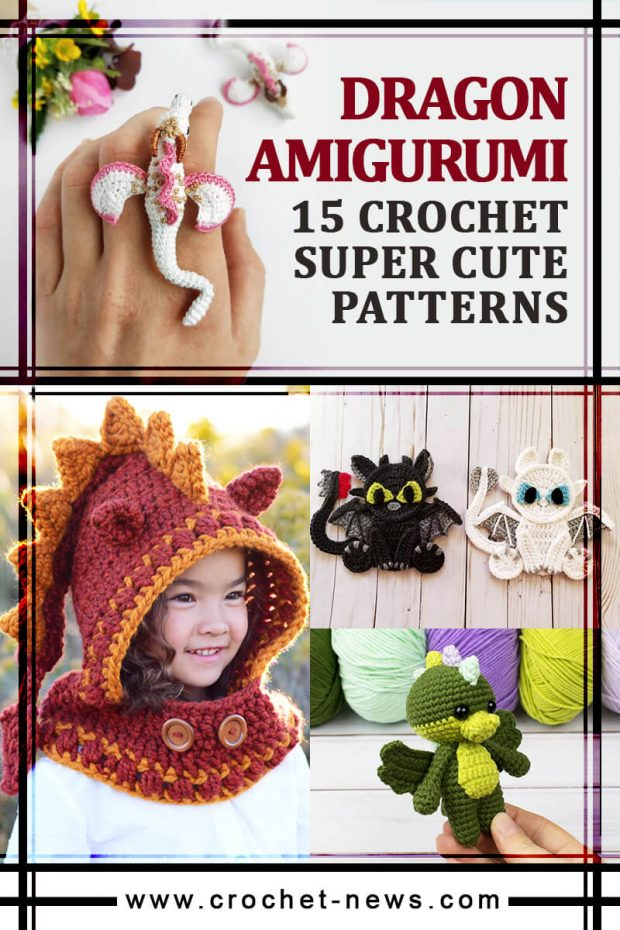 crochet dragon amigurumi patterns