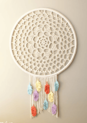 Crochet Dreamcatcher Pattern