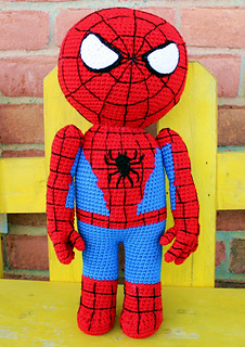 Spiderman Crochet Pattern Doll