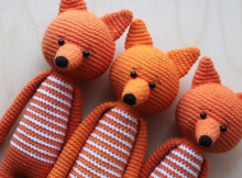 Long Legged Fox Amigurumi Free Crochet Pattern