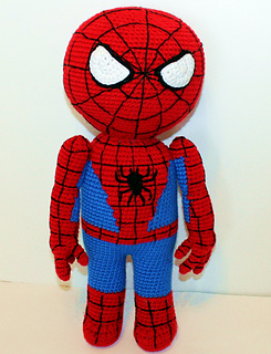 Amigurumi Spiderman Doll Crochet Pattern
