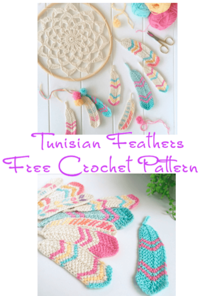 Free Tunisian Crochet Feather Pattern Crochet News